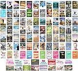 Edition Seidel Set 100 Postkarten Leben & Momente mit Sprüchen - Karten mit Spruch - Geschenk. Geburtstagskarten, Geburtstag, Liebe, Freundschaft, Leben, Motivation, lustig. Postcrossing