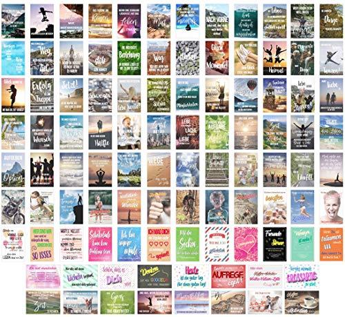 Edition Seidel Set 100 Postkarten Leben Momente Mit Spruchen