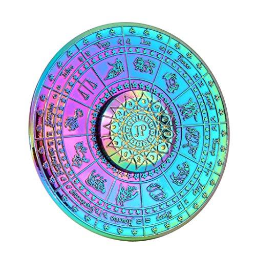 Preisvergleich Produktbild BZLine® Fidget Spinner, Regenbogen Fidget Hand Spinner Dreieck Metall Finger Focus Spielzeug