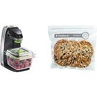 Système FoodSaver de conservation des aliments frais, machine sous vide alimentaire FFS010X & FOODSAVER FVB015X Boite…
