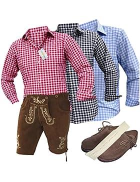 Trachten-Anzug Lederhosen Plattl
