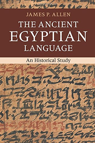 The Ancient Egyptian Language: An Historical Study - Bild 1