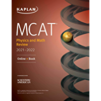 MCAT Physics and Math Review 2021-2022: Online + Book (Kaplan Test Prep) (English Edition)