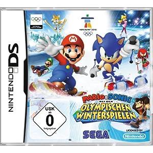 Mario & Sonic bei den Olympischen Winterspielen [Software Pyramide] – [Nintendo DS]