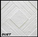 10 m2 Pannelli per Soffitto Pannelli di polistirolo Bloccato Soffitto Decorazione Piastre 50x50cm, DUET