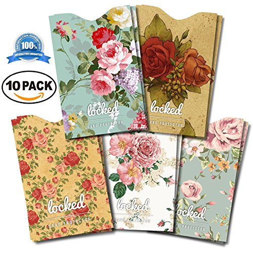 credit-card-protector-premium-quality-rfid-sleeves-designer-vintage-floral-10-rfid-blocking-sleeves-