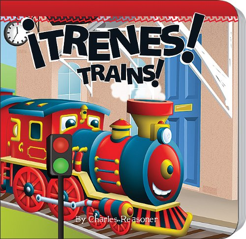 Trenes!/Trains! (Little Birdie Books)