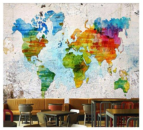 Mappa del mondo con moneta da parete creativa land denaro carta da parete arte tappezzeria böhmische mandala parete arazzo camera da letto soggiorno salotto telo da parete parete decorazione 51*59in pattern2