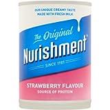 Dunns River Nurishment Original Strawberry Flavour Milk Drink, 400g
