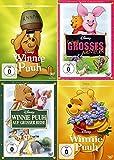 Winnie Puuh Collection | Winnie Puuh + Auf grosser Reise + Ferkels grosses Abenteuer + Vielen Abenteuer (4-DVD)
