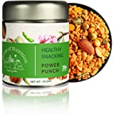 House of Nutrition Power Punch Natural 28g Protein (Roasted Almonds, Puffed Quinoa Grains, Kale Leaves, Green Peas , Pea Prot