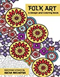 Folk Art a Design and Coloring Book