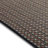 Design Bodenschutzmatte Modena in 6 Größen | dekorative Unterlegmatte für Bürostühle oder Sportgeräte (120 x 90 cm)