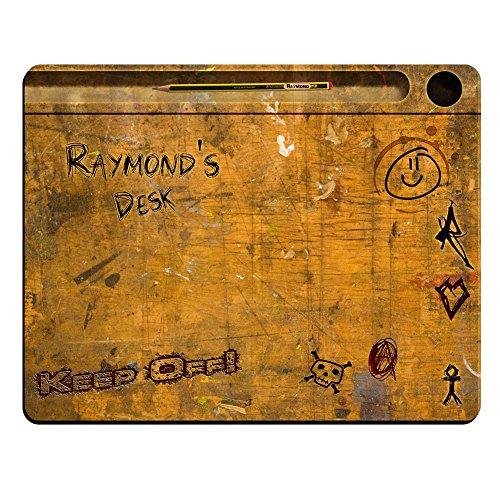 raymonds-desk-motivo-vintage-con-ali-tappetino-per-mouse-di-alta-qualita-spessore-5-mm