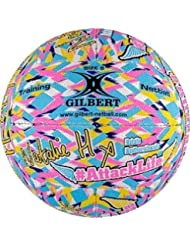 Gilbert Netball Sports Supporters Fan Training & Practice Signature Ball Size 5