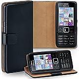 OneFlow Tasche für Nokia 6300 Hülle Cover mit Kartenfächern   Flip Case Etui Handyhülle zum Aufklappen   Handytasche Schutzhülle Zubehör Handy Schutz Bumper in Schwarz