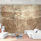 Fototapete Ägypten Pharao Vlies Wand Tapete Wohnzimmer Schlafzimmer Büro Flur Dekoration Wandbilder XXL Moderne Wanddeko - 100% MADE IN GERMANY - Runa Tapeten 9136010a