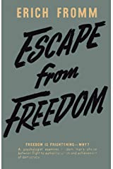 Escape from Freedom Paperback