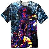 DPX-1 T-Shirt mit Druckmotiv aus dem Film Predator auf dem gesamten Hemd, Größen SbisXXL - L
