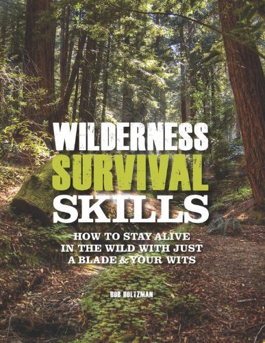 Wilderness Survival Skills: How to Survive in the Wild with Just a Blade & Your Wits by Bob Holtzman (18-Apr-2012) Spiral-bound