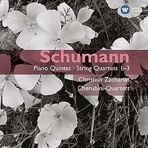 Schumann : Quintette avec piano op. 44 - 3 Quatuors à cordes op. 41