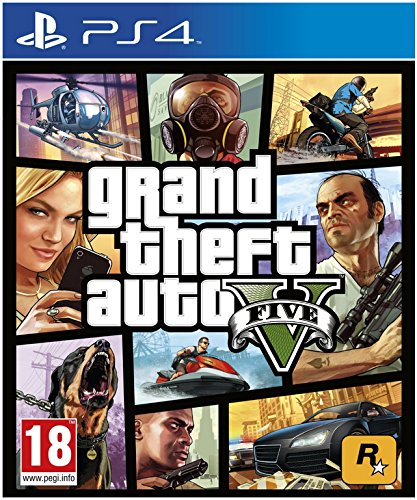 Take-two interactive grand theft auto v, ps4 - video games (ps4, playstation 4, action / adventure, rockstar north, 18/11/2014, m (mature), online)