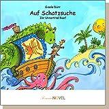 Auf Schatzsuche (für Jungen) - personalisiertes Kinderbuch mit Ihrem Kind in der Hauptrolle. Beim Planschen in der Wanne werden die Phantasien des kleinen Jungens Wirklichkeit - er ist ein Pirat auf Schatzsuche! Für kleine Jungs ab zwei Jahren.