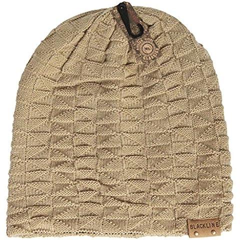 Cappelli uomo/Spessa doppio lavoro a maglia Berretti di lana/Moda Cap/Mucchi di cappelli lavorati a maglia