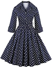 Valin M131218D Robe de bal Vintage pin-up 50's Rockabilly robe de soirée cocktail,S-XXXXL