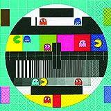 20 Servietten Test Screen - Testbildschirm/Retro/Muster 33x33cm