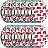20x ECENCE Magnetbefestigung / Magnethalter für Rauchmelder 45020108020