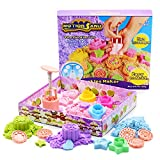 Motion Sand Cookie Maker Playset - Childrens Kenetic Play Sand Set