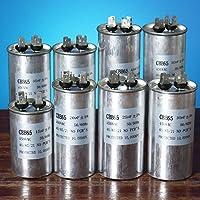 Bluelover 15-50uF Motor Capacitor CBB65 450VAC Air Conditioner Compressor Start Capacitor -E