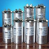 Bluelover 15-50Uf Motore Condensatore Cbb65 450Vac Aria Condizionata Compressore Start Condensatore-C