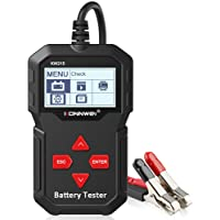 Cicony 12V Digital Car Battery Tester Multi-functional Battery Analyzer Voltage Ohm Cca Tester Vehicle Auto Diagnostic Tools