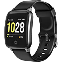 LETSCOM Smart Watch Fitness Trackers with Heart Rate Monitor Step Calorie Counter Sleep…