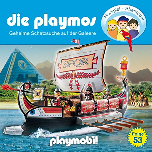 Die Playmos (53) Geheime Schatzsuche auf der Galeere - floff publishing 2016