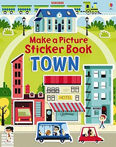 Make a Picture Sticker Book Towns (Make a Picture Sticker Books)