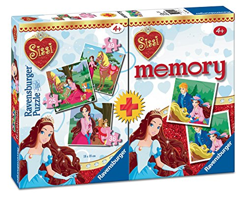 Sissi Multipack Memory + 3Puzzles (Ravensburger 68791)