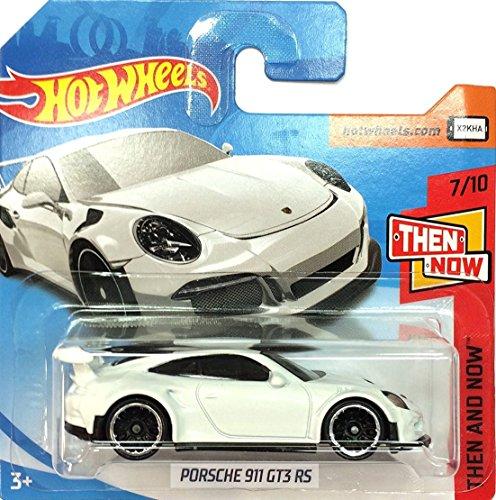 HOT WHEELS® Porsche 911 GT3 RS - 1:64 - weiß (HW-Serie 7/10 Then and Now 2018)