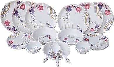 Czar Melamine 24 Pieces Dinner Set (1004)