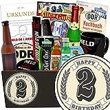 Geschenk zum 2. - Männerset - Geschenkideen zum 2. Geburtstag