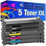 Tito-Express PlatinumSerie 5 Toner XXL als Ersatz für Samsung CLT-404S C430W C480W C480FN C480FW SL-C430 SL-C430W SL-C480W SL-C480 SL-C480FW SL-C480FN | Black 1.500 Seiten, Color 1.000 Seiten