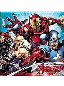 Procos servilleta 33x 33cm Avengers Mighty, Multicolor, 5pr87967