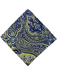 Classic Paisley Silk Pocket Squares