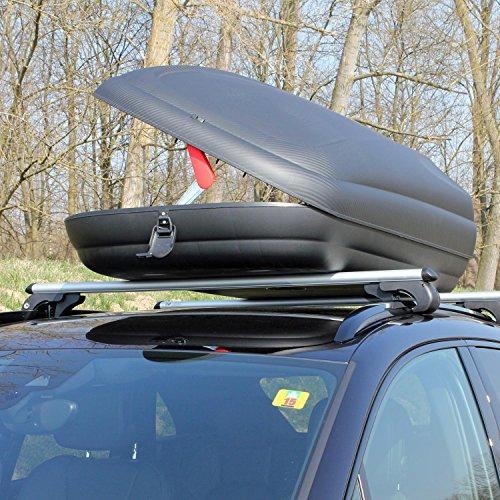 109 95 artplast ba320 dachbox fr auto schwarz. Black Bedroom Furniture Sets. Home Design Ideas