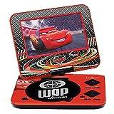 Lexibook DVDP4DC Disney Cars Tragbarer DVD-Player
