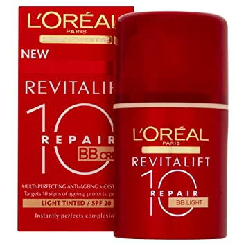 L'Oreal Paris Revitalift 10 Repair Anti-Ageing BB Cream SPF 20 ...