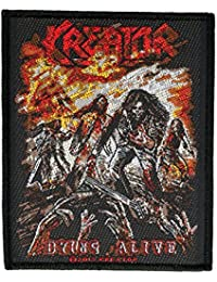 KREATOR parche–Dying Alive Patch–tejida & licencia oficial.