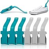 Aide à Chaussures Paresseux 10 Pcs Corne de chaussure en plastique Paresseux Chausse-Pied Chausse Pied Lazy Shoe Helper Pour